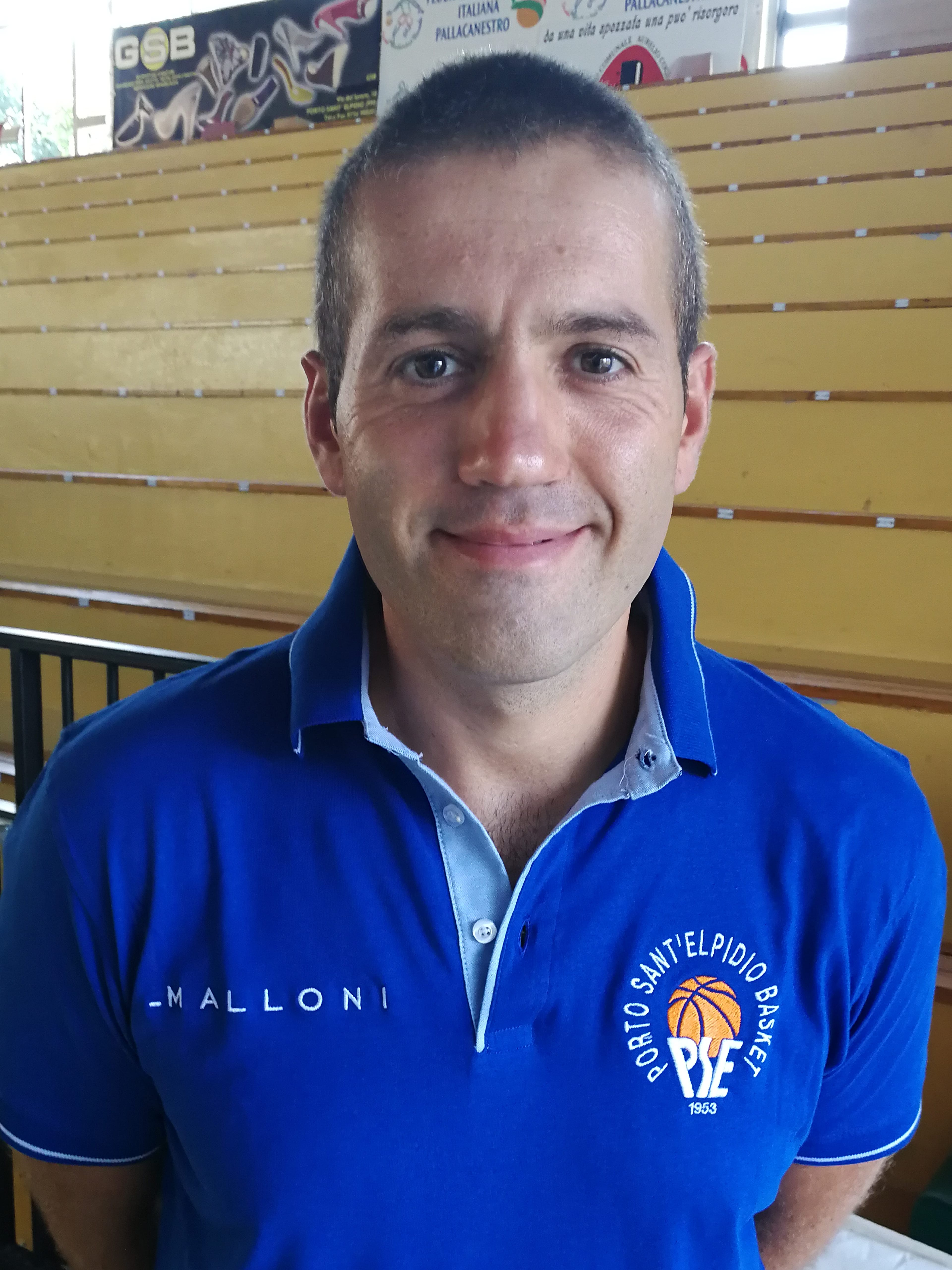 E' Gianluca Pizi il nuovo capo allenatore del P.S.Elpidio Basket