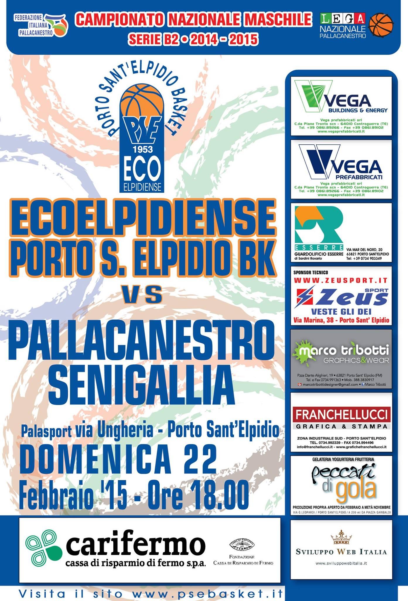 La presentazione di Ecoelpidiense-Senigallia