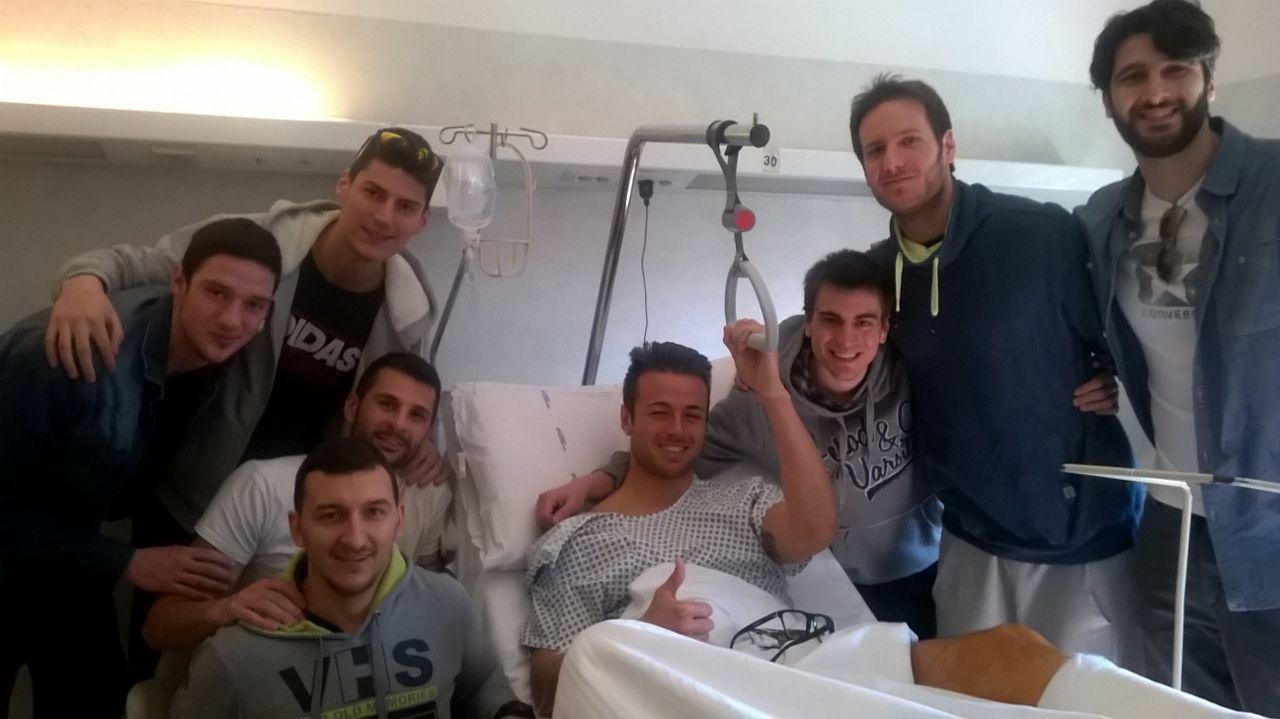 Diego Torresi sottoposto ad intervento chirurgico