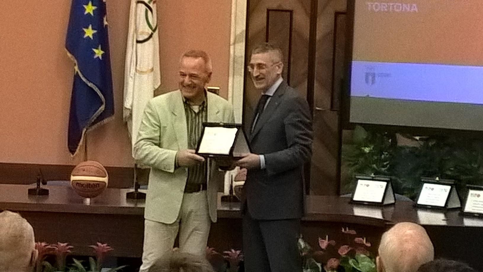 P.S.Elpidio Basket premiato da CONI e FIP per gli oltre 50 anni di affiliazione