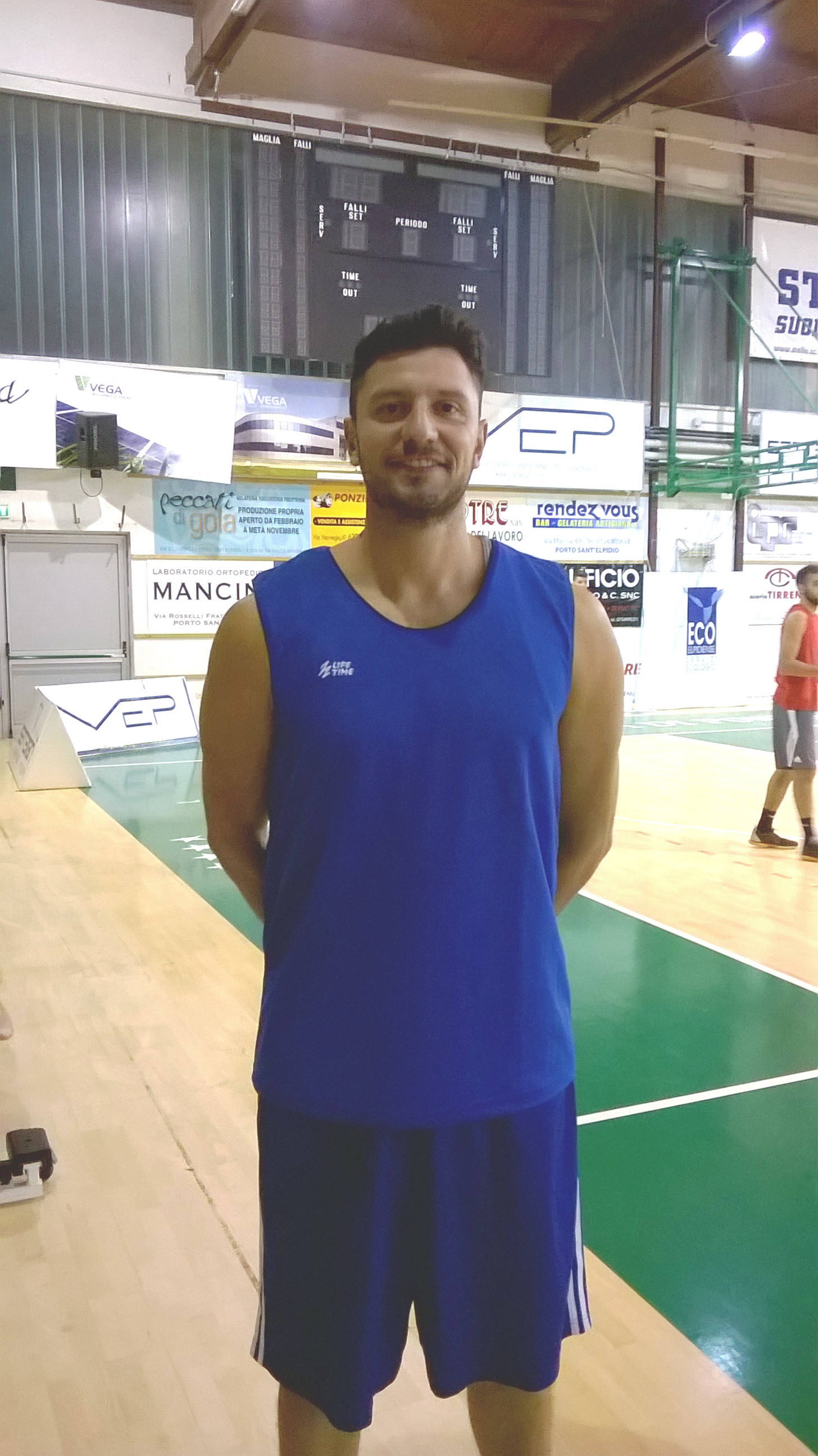 Porto Sant'Elpidio firma Manuel Del Brocco
