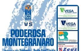 Ecoelpidiense Stella PSE – Poderosa Montegranaro sarà giornata biancoazzurra