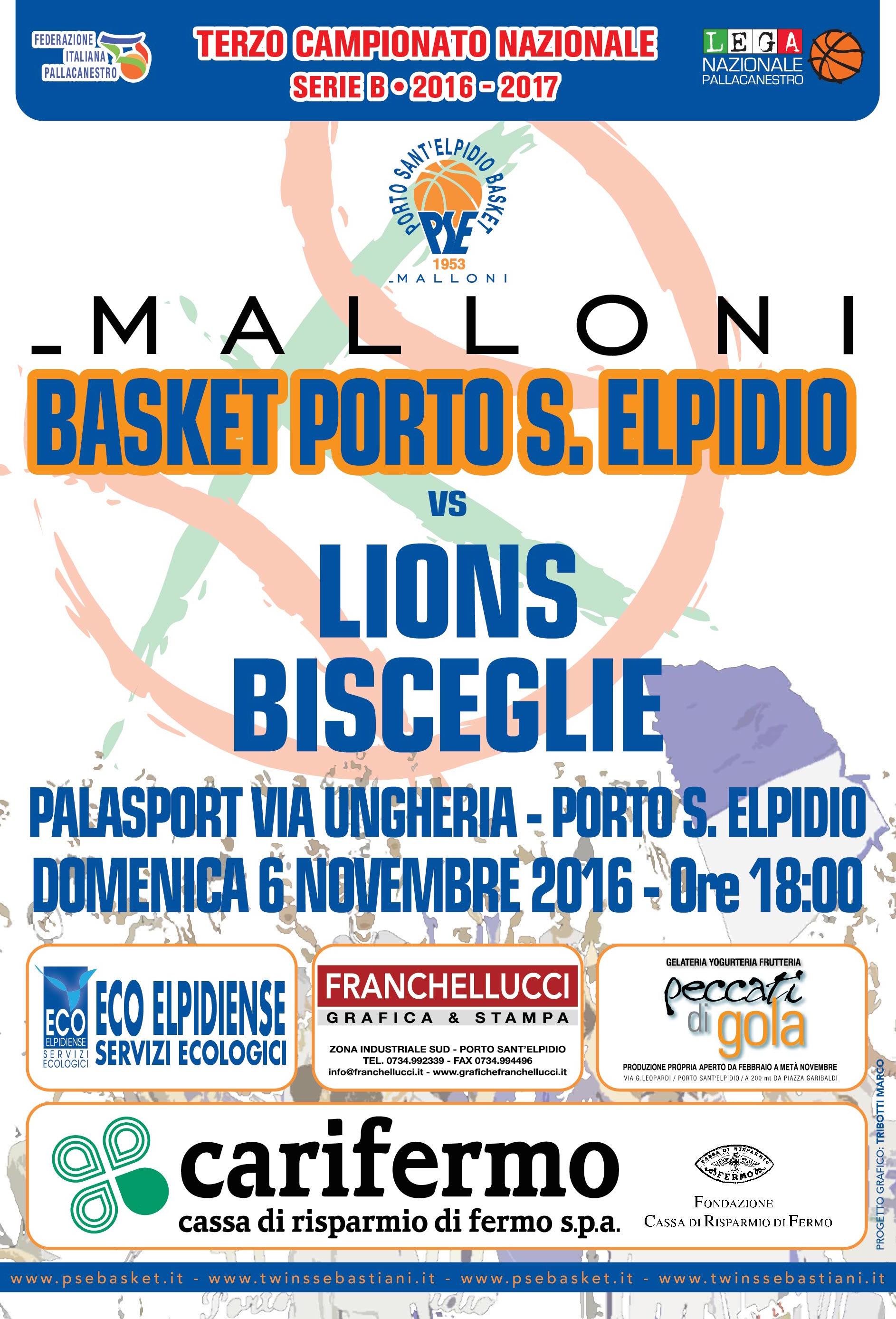 Malloni P.S.Elpidio-Bisceglie, disposizioni ordine pubblico