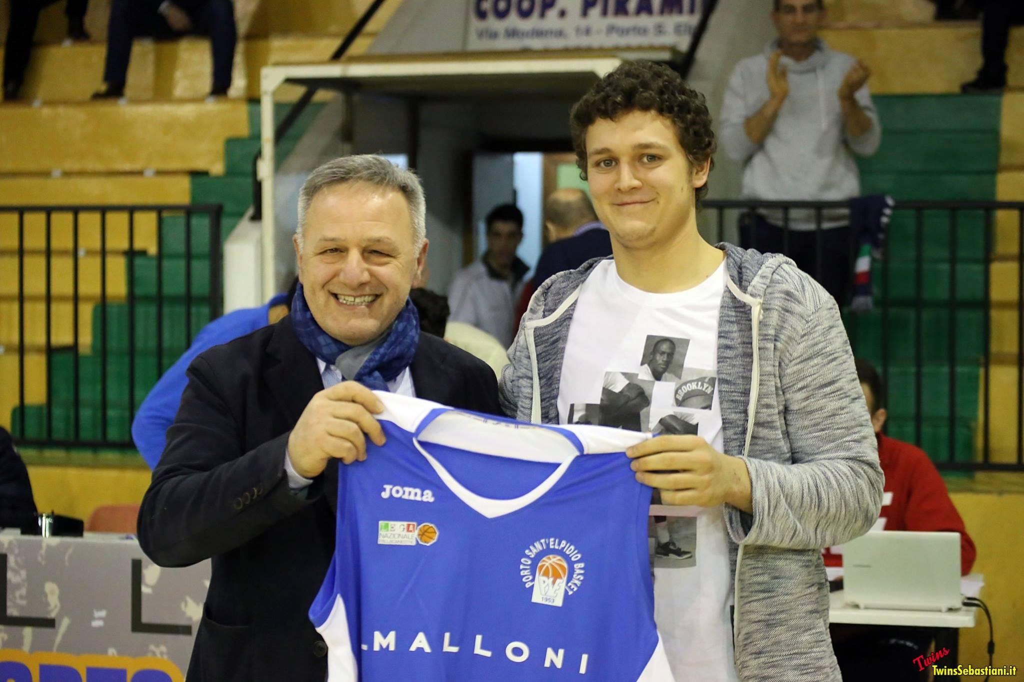 La Malloni P.S.Elpidio tessera Matteo Cernivani