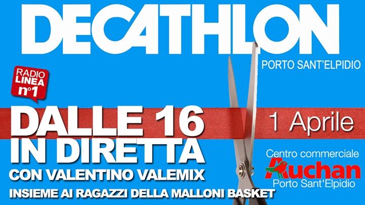 Apertura DECATHLON, c'è anche la Malloni Basket