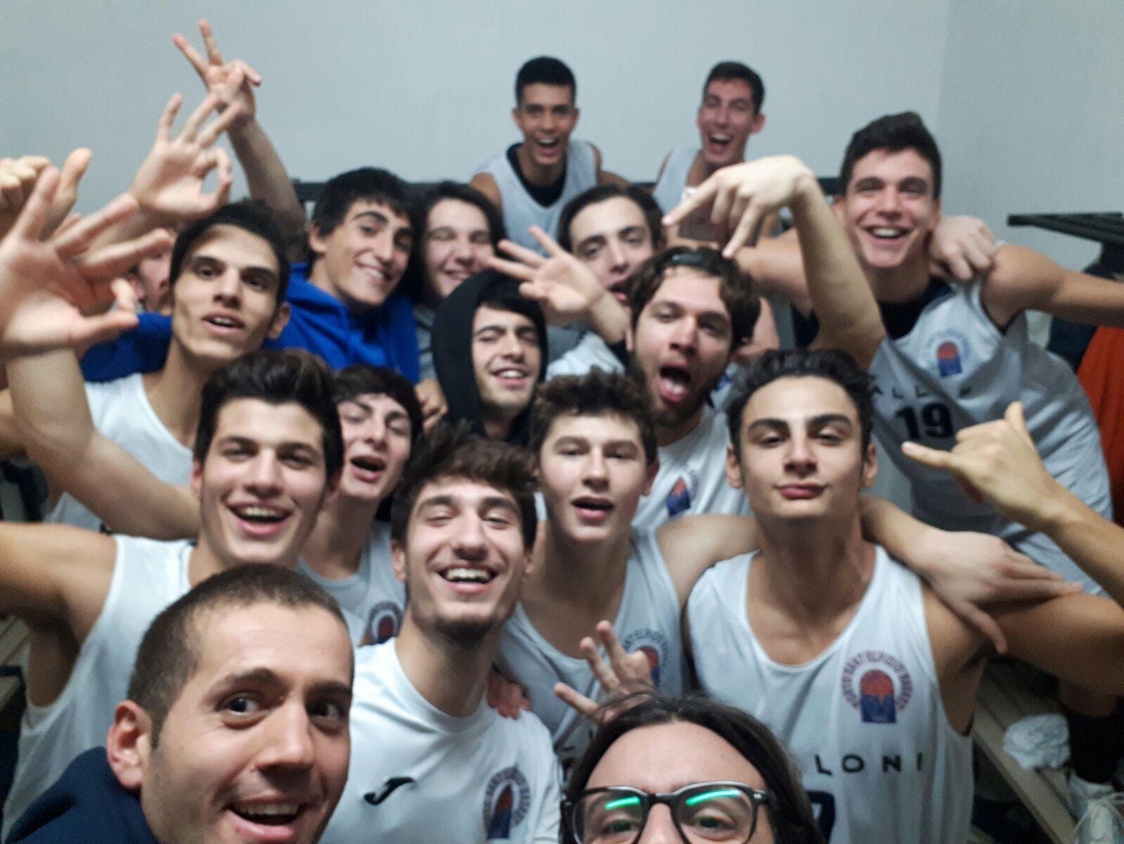 L'Under 18 imita la prima squadra, la Malloni travolge Orvieto.