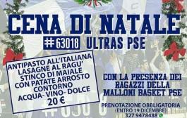 Malloni Basket, cena-evento degli Ultras #63018 il 22 Dicembre.