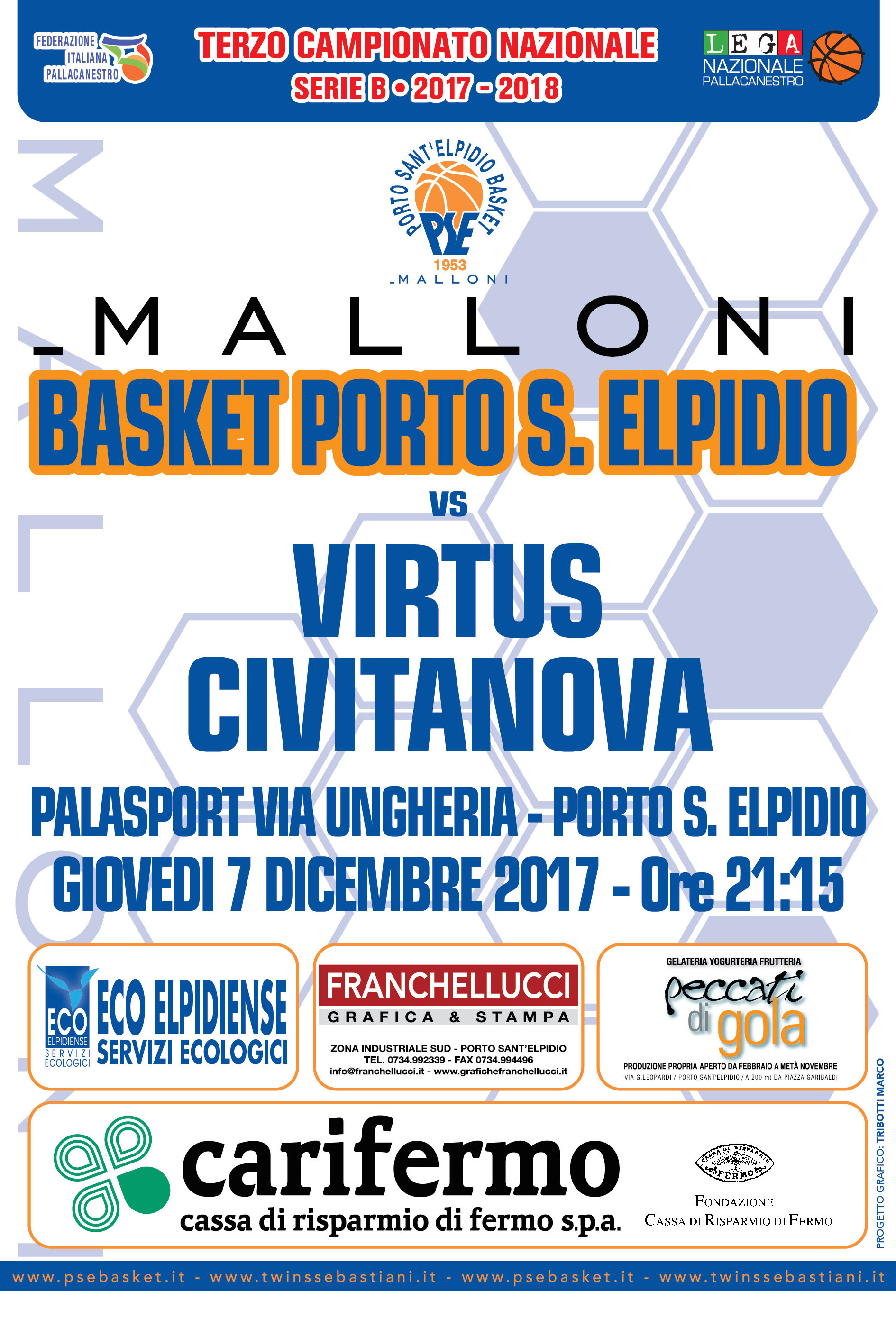 Derby Malloni-Virtus. Palas quasi sold-out, botteghini aperti dalle 19.15