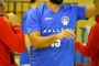 Derby Malloni-Goldengas, nell'intervallo omaggio ai giovani campioni.