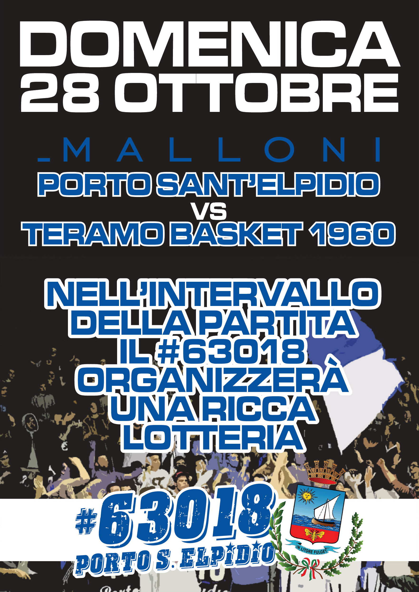 Malloni -Teramo: un week-end di basket e non solo a P.S.Elpidio