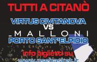 Virtus Civitanova-Malloni P.S.Elpidio: cresce l'attesa per il derby di domenica.