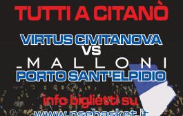 Derby Civitanova-Malloni P.S.Elpidio: info biglietti e disposizioni accesso al Palas.