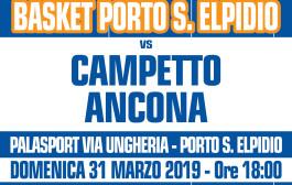 Derby Malloni P.S.Elpidio – Campetto Ancona: le disposizioni d'ingresso al Palas