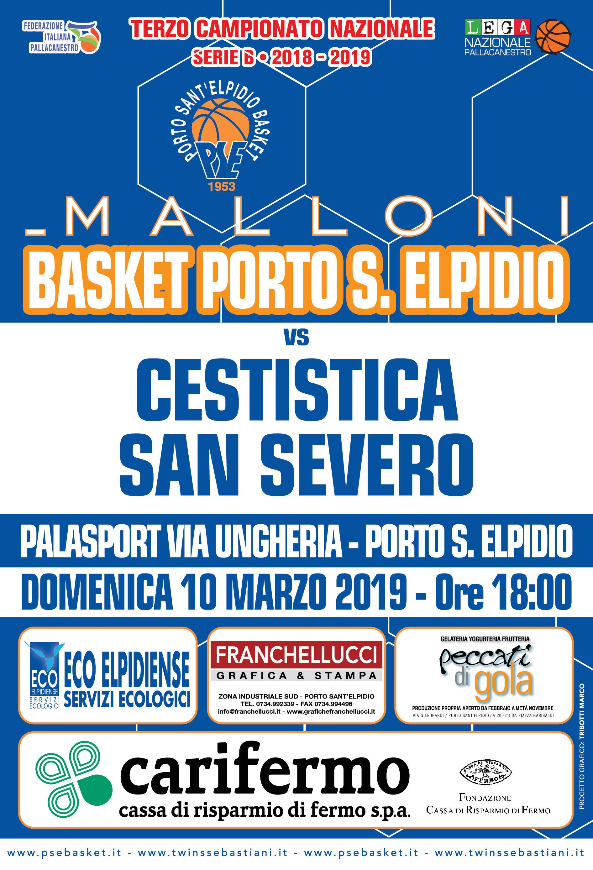 Malloni P.S.Elpidio – San Severo, ingresso omaggio per tutte le donne.