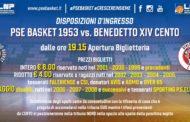 P.S.Elpidio Basket - Cento: le disposizioni d'ingresso al Palas