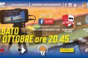 Piacenza - P.S.Elpidio Basket in diretta su facebook
