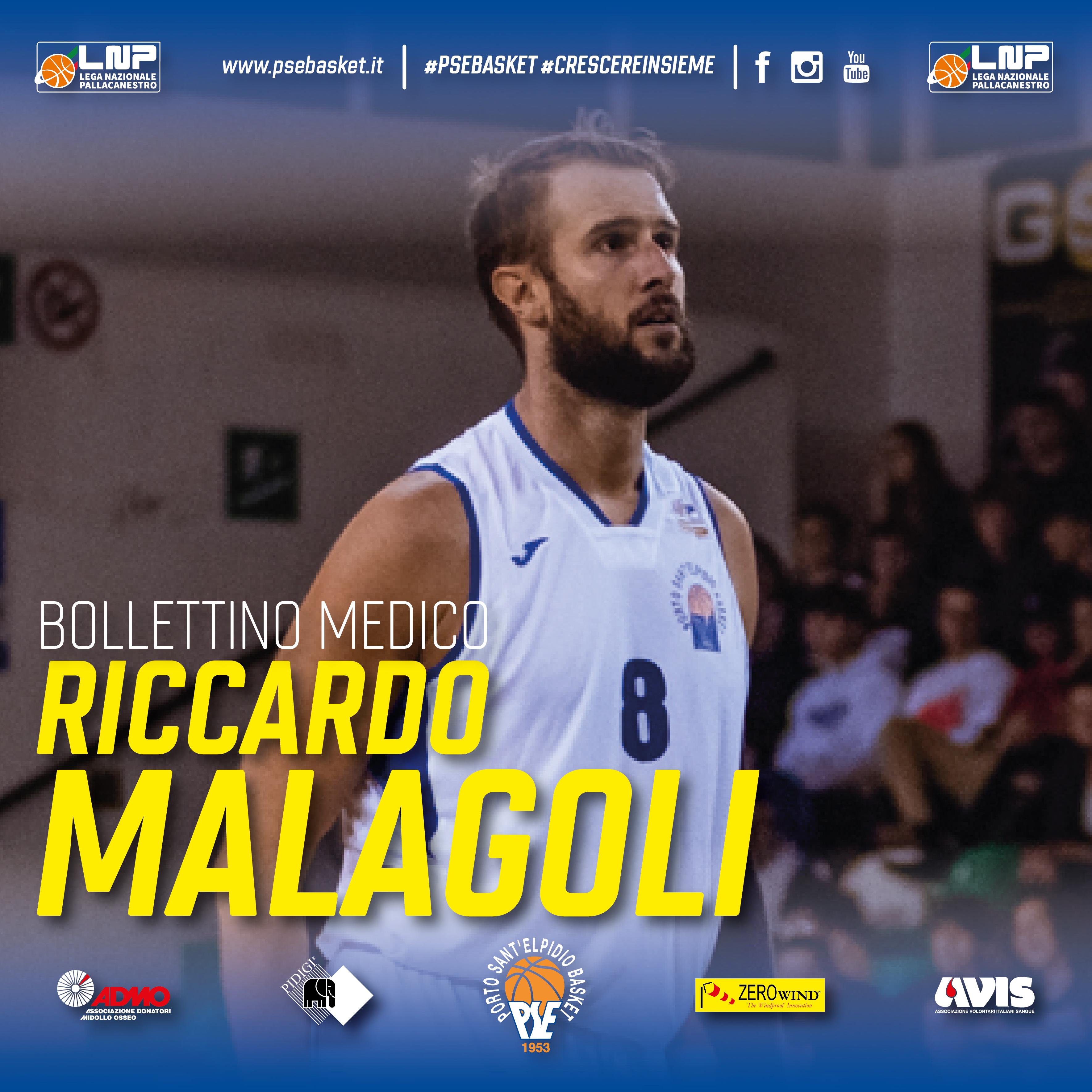 Comunicato sulle condizioni di Riccardo Malagoli