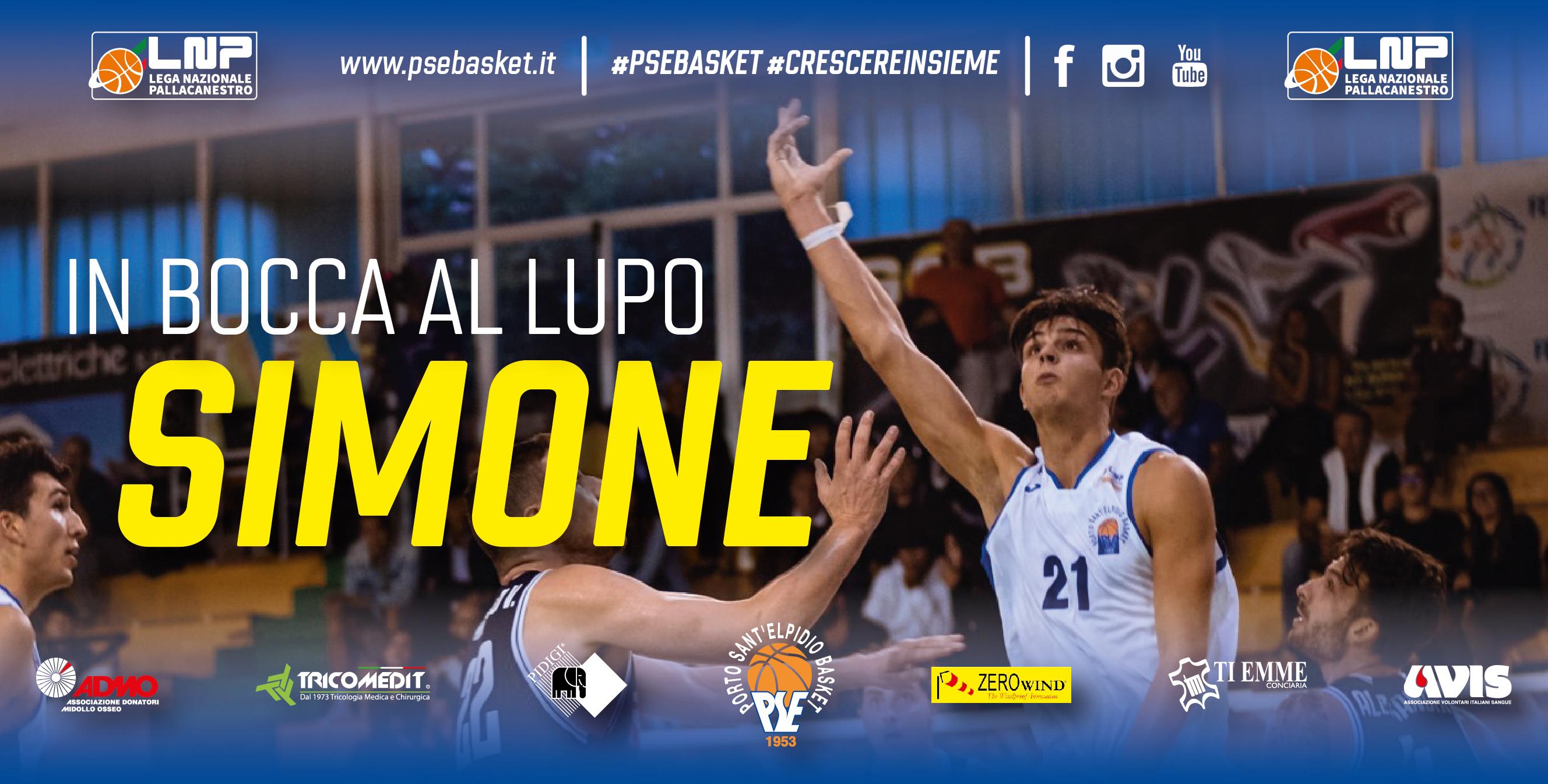 Simone Doneda e Porto Sant'Elpidio Basket si separano