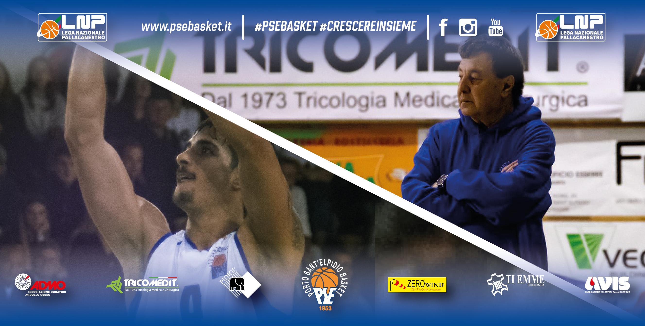 Valerio Costa e coach Sabatino lasciano il P.S.Elpidio Basket