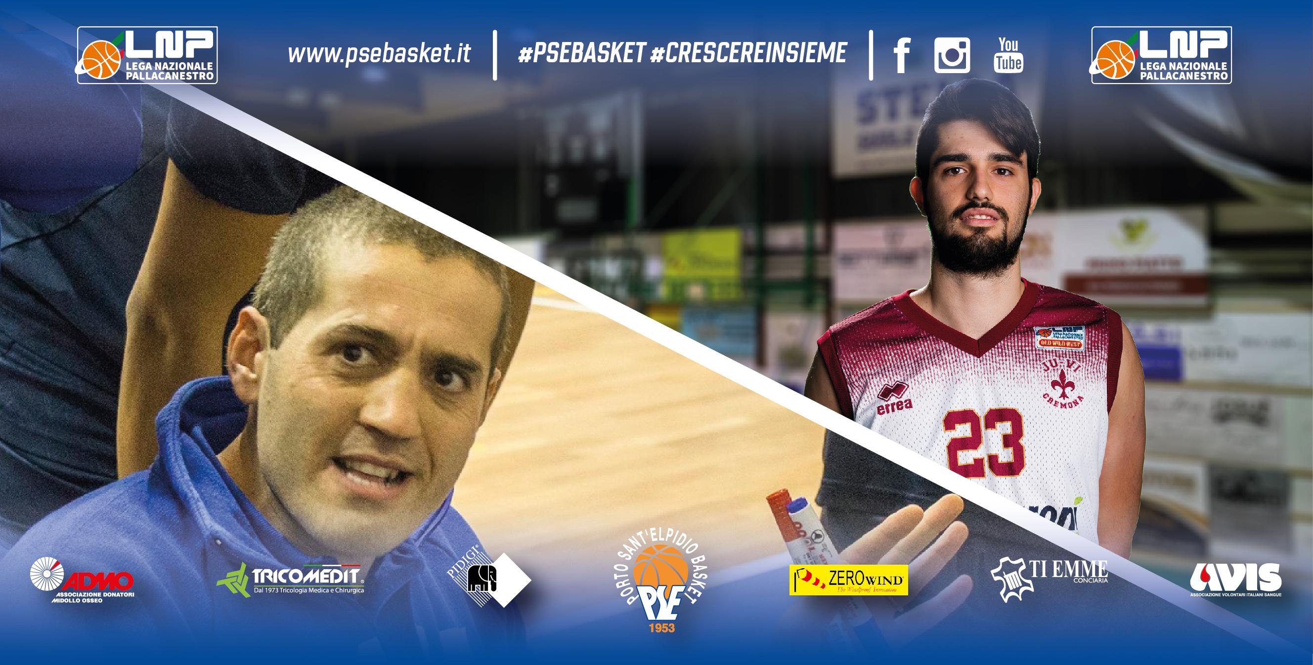 Coach Pizi torna alla guida del P.S.Elpidio Basket, in arrivo Alessandro Esposito