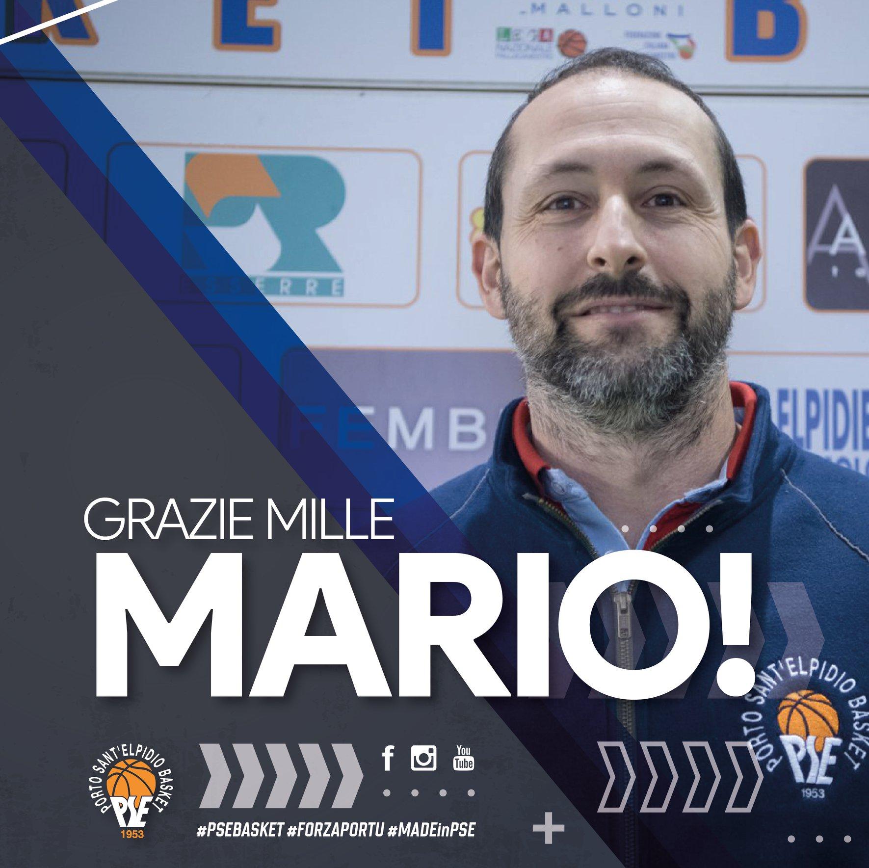 Porto Sant'Elpidio Basket saluta il prof. Mario Matricardi