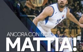 Mattia Sagripanti è ancora biancoazzurro.