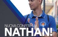 Anche Nathan De Sousa Pereira resta in biancoazzurro.