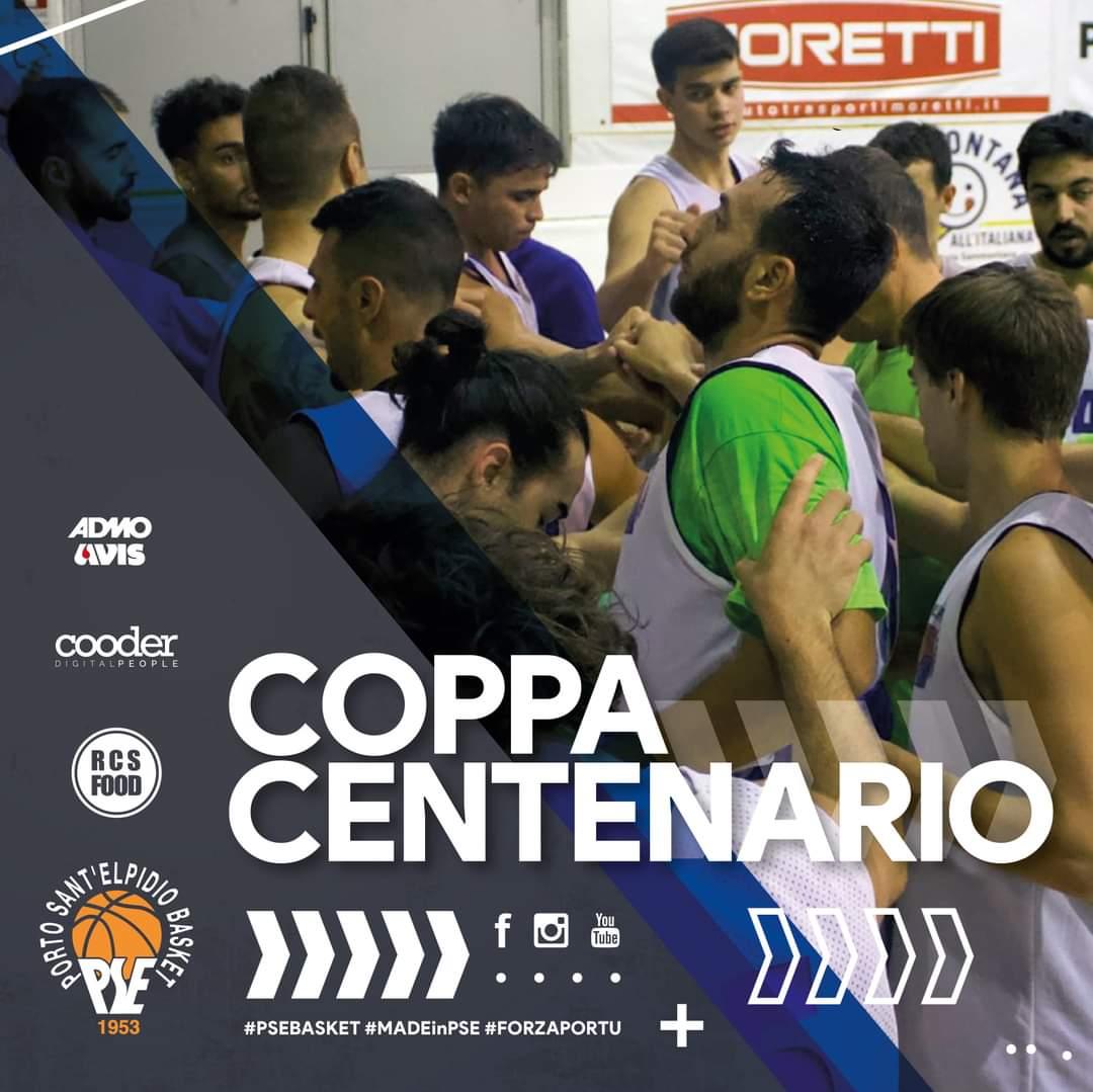 Il P.S.Elpidio Basket si iscrive alla Coppa del Centenario