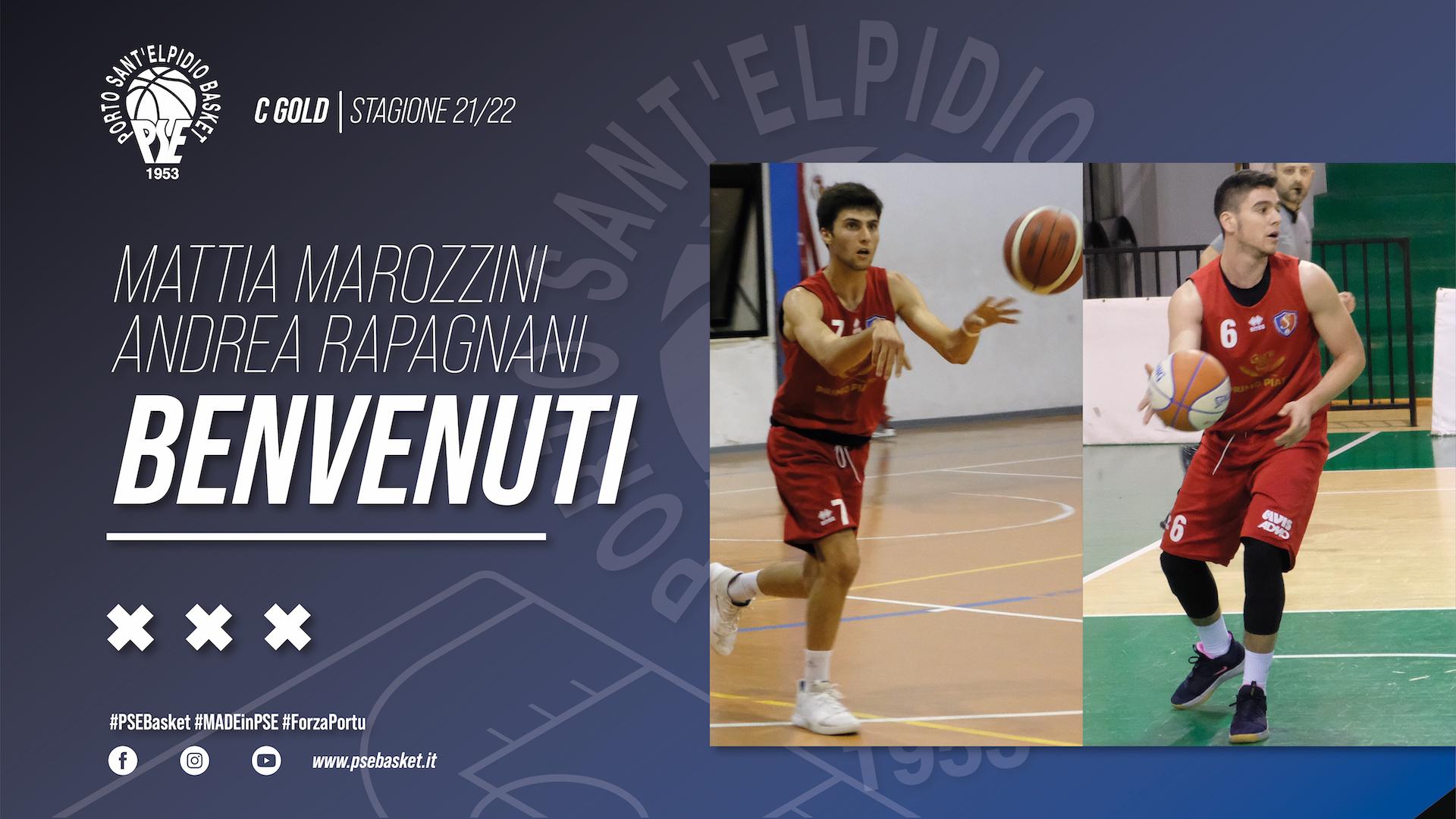 Avanti con la linea verde: Marozzini & Rapagnani biancoazzurri!