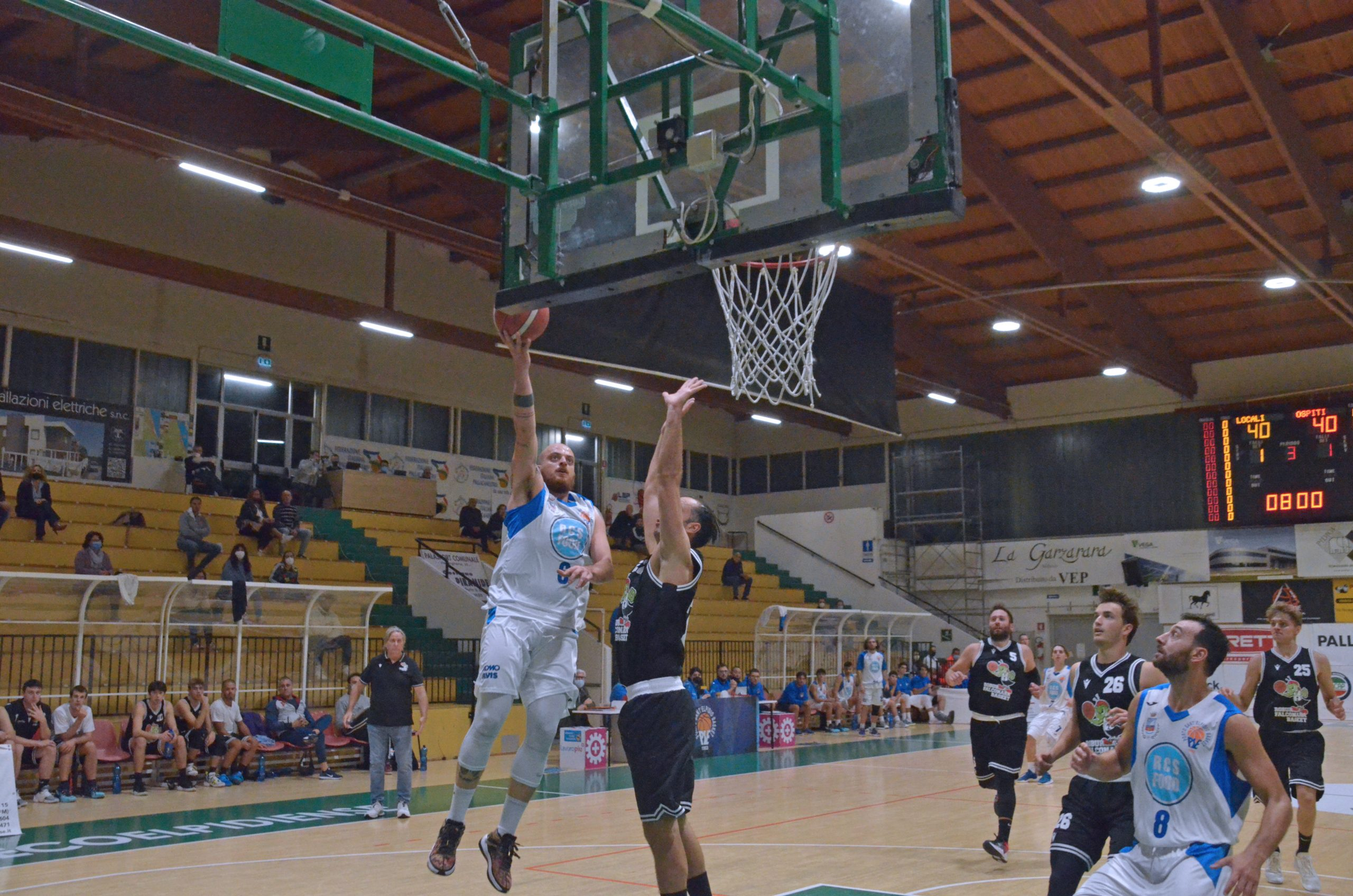 Porto Sant'Elpidio Basket - Robur Falconara Basket 80-61: Buona la prima per gli azzurri!